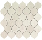 Atlas Concorde Marvel Imperial White Drop Mosaic 27,2x29,7
